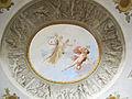 Palazzo delle cento finestre, primo piano, sala E, volta con affreschi di luigi catani 02.JPG