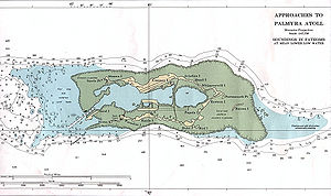 Palmyra Atoll - Palmyra Atoll – NOAA Nautical Chart (1:47,500)