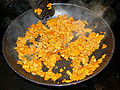 Pan fried chanterelles.JPG