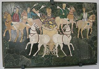 Junius Bassus in a chariot