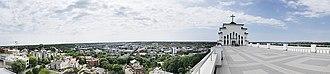 Christ's Resurrection Church, Kaunas - Image: Panorama of Kaunas from Christ's Resurrection Church