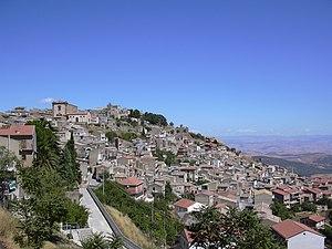 Aidone - Image: Panorama sangiacomo