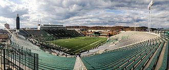 Joan C. Edwards Stadium - Image: Panoramic of Joan C. Edwards Stadium