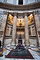 Pantheon, Rome, grave of Umberto I, 2013-03-07 (2).jpg