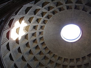 Pantheon dome(Oculus)