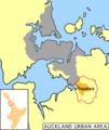 Papakura district map.png