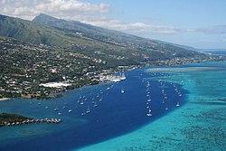 Luftaufnahme von Papeete