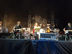 Paramore in Bali August 2011.JPG