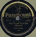 Paramount 3301 A - GotDrunkAndGotMarried.JPG