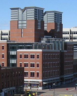 Boston Public Market - Parcel 7 building before construction of the market