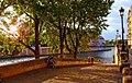 Paris, a view of Ile de La Cite' seen from the east bank of Seine, 2007.jpg