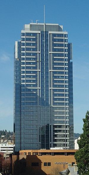 Park Avenue West Tower - Park Avenue West Tower eastern face