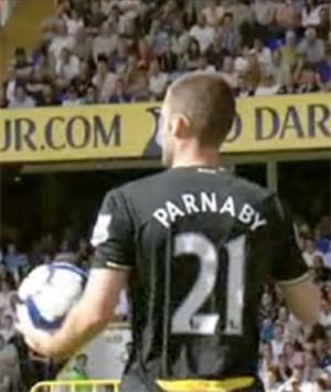 Stuart Parnaby - Playing for Birmingham City in 2009