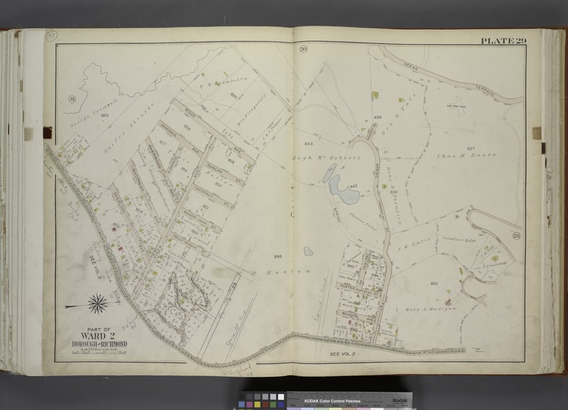 File:Part of Ward 2. (Map bound by Ridge Ave, Prospect Ave, Ocean Terrace, Douglas Road, Richmond Road) NYPL1646249.tiff