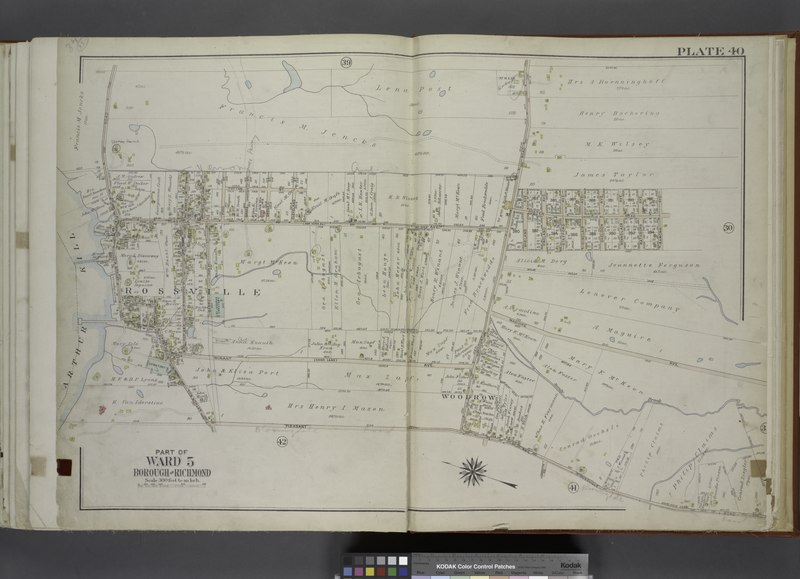 File:Part of Ward 5. (Map bound by Arthur Kill Road, Rossville Ave, Woodrow Road, Foster Road (Rossville Ave), Ramona Ave, Maguire Ave, Sandy Brook, Rossville Road, Pleasant Ave) NYPL1646307.tiff