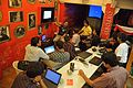 Parthasarathi Banerjee - New Article Evaluation Method Discussion - Bengali Wikipedia Meetup - Kolkata 2015-10-11 6005.JPG
