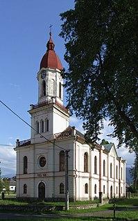 Partizánska Ľupča Village in Žilina, Slovakia