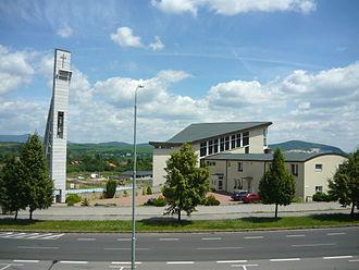 Partizánske - Image: Partizánske kostol na Šípku