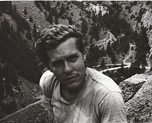 Pat Ament - Pat Ament in the early 1970s, in Eldorado Canyon