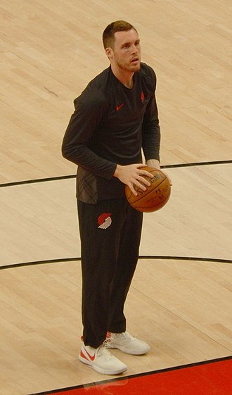 Pat Connaughton - Connaughton with the Portland Trail Blazers in 2018