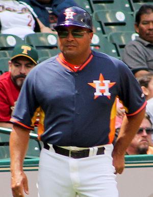 Pat Listach - Image: Pat Listach Astros March 2014