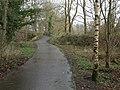 Path, Omagh Leisure Centre - geograph.org.uk - 1196329.jpg