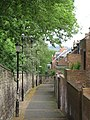 Path behind Victoria Street, NE4 - geograph.org.uk - 1892051.jpg