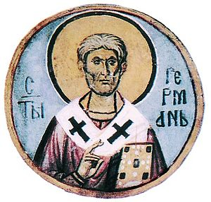 Germanus I of Constantinople - Patriarch Germanus I of Constantinople