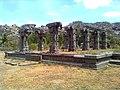 Pattabhirama Temple ruined mandapam side view.jpg