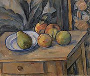 Paul Cézanne - The Large Pear (La Grosse poire) - BF190 - Barnes Foundation.jpg
