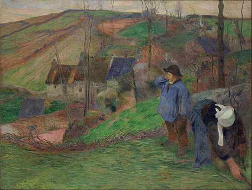 Paul Gauguin - Landscape of Brittany - Google Art Project