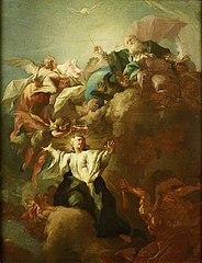 Allegorie auf die Unbefleckte Empfängnis Mariae