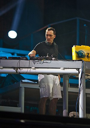 Paul van Dyk - Van Dyk performing at KaZantip, 2009.
