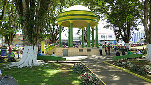 Cantons of Costa Rica - Image: Pavilion of Ciudad Quesada, Costa Rica park