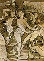 Pavimento di siena, storie di mosè sul sinai (beccafumi) 03.jpg