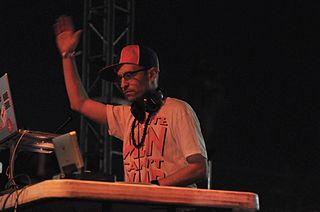 Peanut Butter Wolf Hip hop DJ