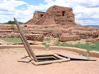 Pecos National Historical Park - Pecos Pueblo Mission Church