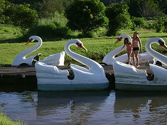Pedalo - Pedalos in Brazil (called pedalinhos)