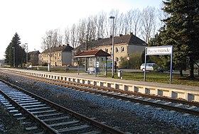 La gare de Peenemünde.