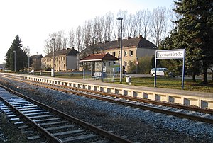 Peenemünde - Peenemünde railway station for service to Zinnowitz