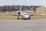 Pel-Air (VH-KNS) IAI Westwind 1124 parked on the tarmac at Wagga Wagga Airport.jpg