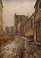 Pelletier P.J. - Oil on canvas - Montmartre - 45.7x31.8cm.jpg