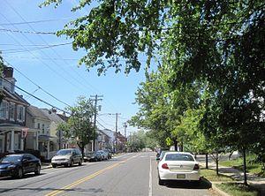 Pemberton, New Jersey - Center of the borough