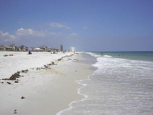 Pensacola Beach, Florida - Image: Pensacola Beach Florida