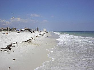 Emerald Coast - Image: Pensacola Beach Florida