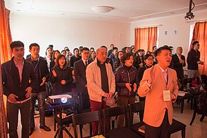 House church - A house church in Shunyi, Beijing.