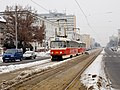 Petřiny, tramvajová trať, Tatra T3SUCS.jpg
