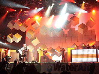 Pet Shop Boys - Pet Shop Boys performing in 2010