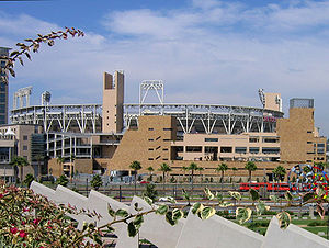 Antoine Predock - San Diego's baseball stadium Petco Park