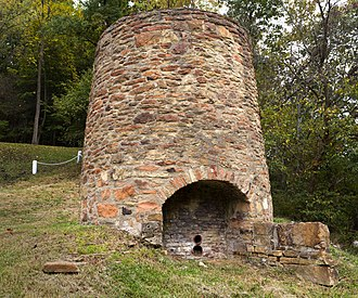 Hancock County, West Virginia - Image: Peter Tarr Furnace Site 2012